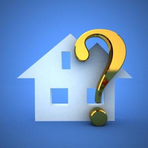 עלות בדיקת בית - תמונת אילוסטרציה של סימן שאלה ליד ציור בית